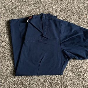 Dickies Other - XS Small Navy Blue Scrub Top